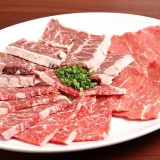 厳選されたお肉を提供!