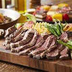GRAN BLANC GINZA BEER&GRILL - 料理写真:熟成牛プラン