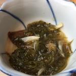 Hokkaido Gourmet Dining 北海道 - 【'18.10】もずくは鰹節がイイ仕事してる