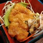 かもめ - 豚ロースステーキ・オレンジソース