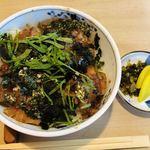 竹浜 - 料理写真:サワラ丼  1,080円