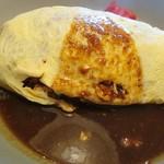 本格手作り洋食家 紀しん - 料理写真:オムライス大盛700円