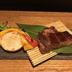 95290126 - A5和牛ヒレステーキと海鮮鉄板焼きコース 9,000円(飲み放題付き)