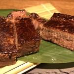 95290137 - A5和牛ヒレステーキと海鮮鉄板焼きコース 9,000円(飲み放題付き)