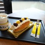 からこカフェ - スイーツドッグサンド(2018.10)