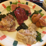 湯処 ほのか - 料理写真:肉アップ