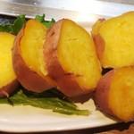 鉄板料理 小松 - 安納芋(種子島)