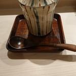 すし崇 - 茶碗蒸し