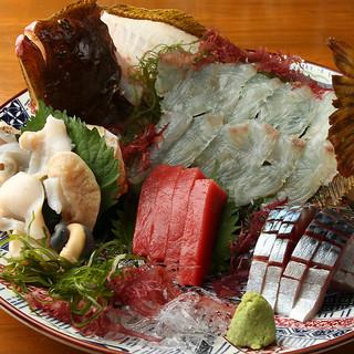 【隠れた名物】日替わりで仕入れる鮮魚