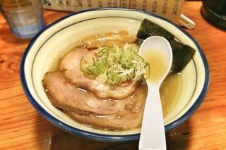 翔鶴 - 塩チャーシューメン