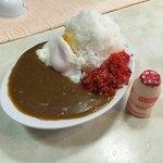 喫茶 田川 - 料理写真:中盛りに 目玉焼きトッピング   ¥800