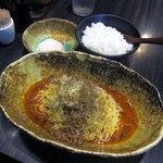 95299240 - 汁なし担担麺(辛さ3)
