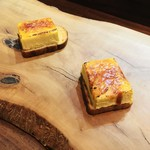 95299369 - フォアグラのブリュレとエスプレッソの食パン1