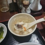 95300528 - 【ランチ】お替り必須のスープ
