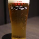 95300811 - 生ビールはアサヒスーパードライ