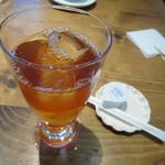 カフェ ピース - ガレットランチ ドリンクアイスティー
