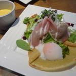 カフェ ピース - ガレットランチ ガレット