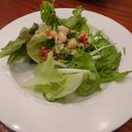 カフェ ピース - 料理写真:ガレットランチ サラダ