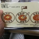 大阪難波 自由軒 - カレーの食べ方