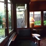 THE FUJIYA GOHONJIN - 場所を 変えて    バーで デザートいただきました