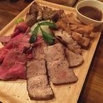 肉バル酒場 ラッキー ルウ - 海賊肉盛りプレート