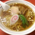 中華タカノ - ラーメン ¥350