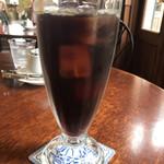 グリュイエール - * トラジャブレンド< アイスコーヒー > ランチセットのドリンクから… 単品では ¥400+税