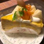 95309422 - かぼちゃのミルクレープ ¥380