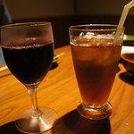 いろはにほへと - ワイン&黒ウーロン茶