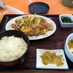 東天閣 - 料理写真:今日の日替わり
