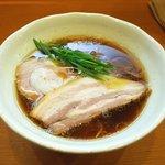 中華そば うえまち - 中華そば 鶏・豚 醤油930円