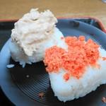 95312226 - おにぎり(鮭・ツナマヨ