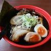 Iroha - 料理写真:富山ブラック味玉らーめん(890円、斜め上から)