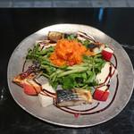ビストロ チック - 鯖とクレソンのサラダ
