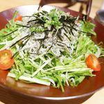 離島キッチン - 篠島の釜揚げしらすのサラダ