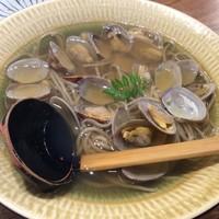 蕎麦と天ぷら みくりや-あさりまみれ 1080円