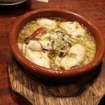 牡蠣 やまと - 牡蠣のガーリックオイル煮