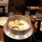 牡蠣 やまと - 牡蠣釜めし