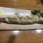 おけしょう鮮魚の海中苑 - カマスの塩焼き