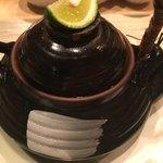 天ぷら 空海 - 松茸の土瓶蒸し♪