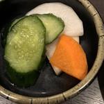 郷どり 燦鶏 - 漬物