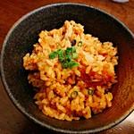 95323573 - 鮭とキノコの醤油バター炊き込みご飯 250円