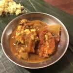 南インド家庭料理 カルナータカー - 羊の脳ミソの料理
