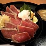 まぐろのエン時 - 本マグロ塩炙り丼(1,880円)