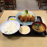 動坂食堂 - 料理写真:カキフライ定食('18/10/27)