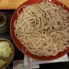 十割そば 乃庵 - 料理写真:三色そば(税込み1000円)