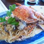 95329245 - 魚介のブランデークリームソーススパゲティー