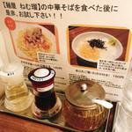 95329302 - テーブルの調味料