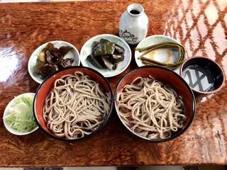 七兵衛そば - 盛りそば 食べ放題   ¥1200