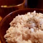 新屋食堂アヤナイ - 雑穀米